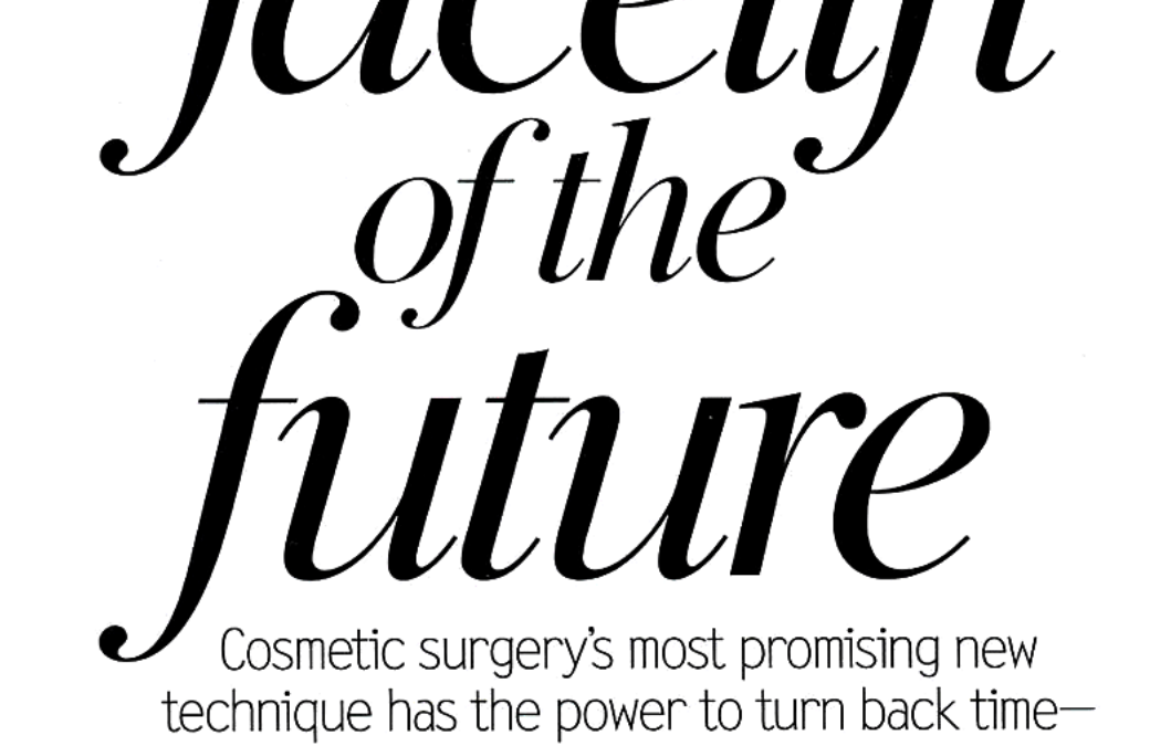 article about non-surgical facelift in new york