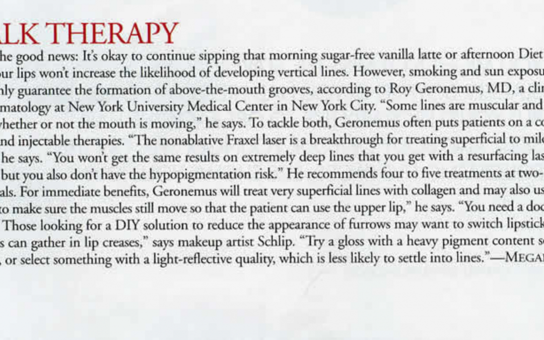 article about facial co2 lasers in new york