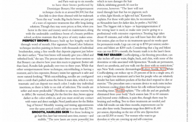 Robert T. Anolik, M.D., discusses CoolSculpting in the November Issue of Harpers Bazaar