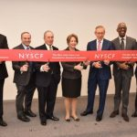 Roy G. Geronemus, M.D., and The New York Stem Cell Foundation cut ribbon on the official opening of its new state-of- the-art Research institute and headquarters in Manhattan.