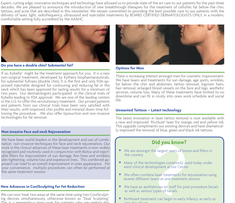 lsaer skin surgery news article new york