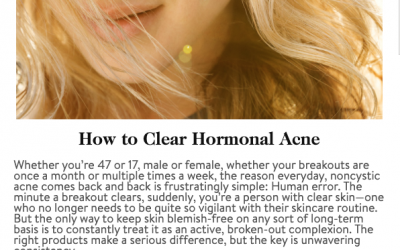 """How to Clear Hormonal Acne"" Robert T. Anolik, M.D., featured in goop magazine"