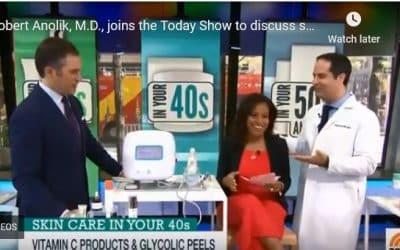 Robert Anolik, M.D., joins the Today Show with Sheinelle Jones & Peter Alexander
