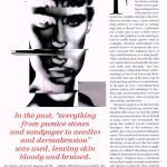 Roy G. Geronemus, M.D., discusses combining anti-aging ingredients and lasers in Allure Magazine