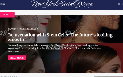 Cellfina: A game changer for cellulite, Yoon-Soo Cindy Bae, M.D., featured in NYSD
