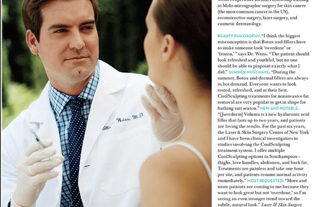 cosmetic surgeon article new york
