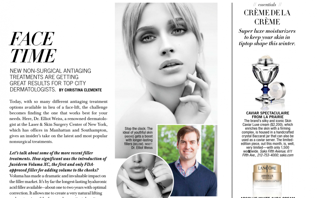 article about dermal fillers in new york