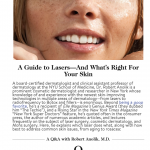 """""""A Guide to Lasers—And What's Right For Your Skin"""" Dr. Robert Anolik featured in goop."""