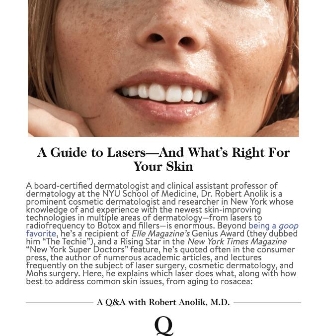 laser dermatology guide in new york