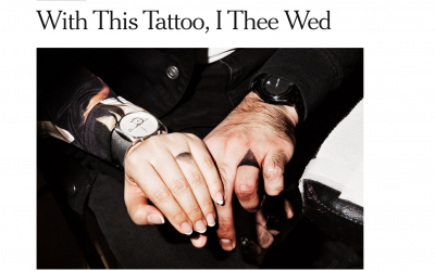 With This Tattoo, I Thee Wed – Roy G. Geronemus, M.D. discusses the rise in tattoo removal with The New York Times