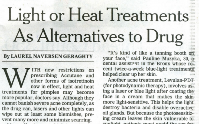 NY Times features Dr. Roy Geronemus