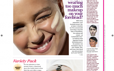 O magazine features Microskin