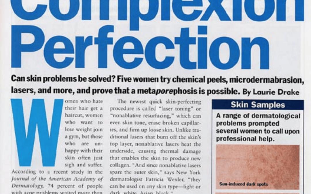 Dr. Roy Geronemus featured in Allure's magazine in New York