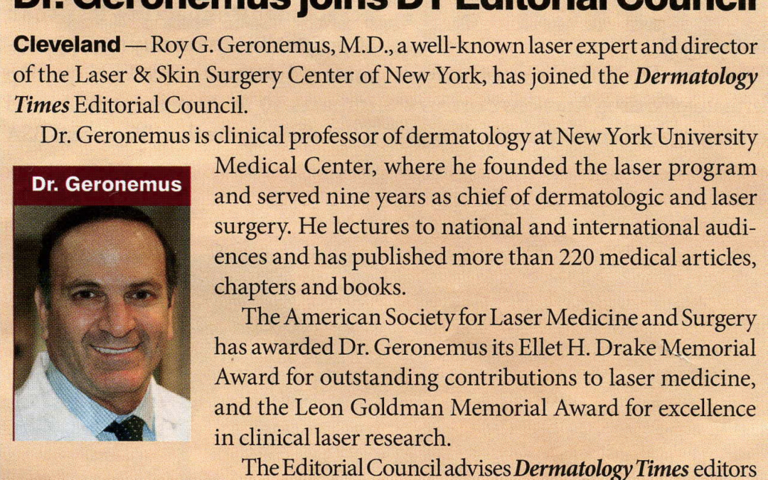 new york dermatology expert