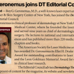 Dr. Geronemus joins Dermatology Times Editorial Council
