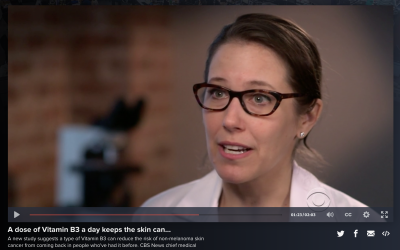 Jessica Krant, M.D., featured on CBS Nightly News.