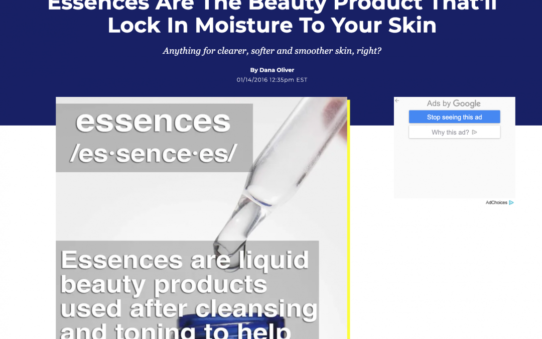 skincare article in new york