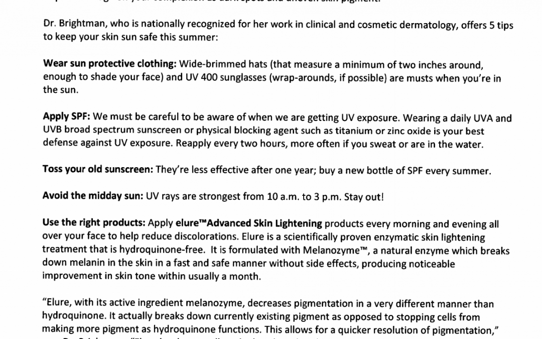 skincare tips by a new york dermatologist