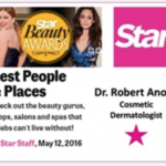 "Robert T. Anolik, M.D., receives ""Best Dermatologist"" for the 2016 Beauty Awards"