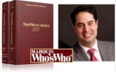 Congratulations to Dr. Robert Anolik on being selected for the 2015 Edition of Who's Who in America!