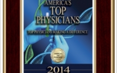 "Dr. Geronemus Recognized in America's Top Physicians 2014 with the ""Top Physicians Making a Difference"" award."