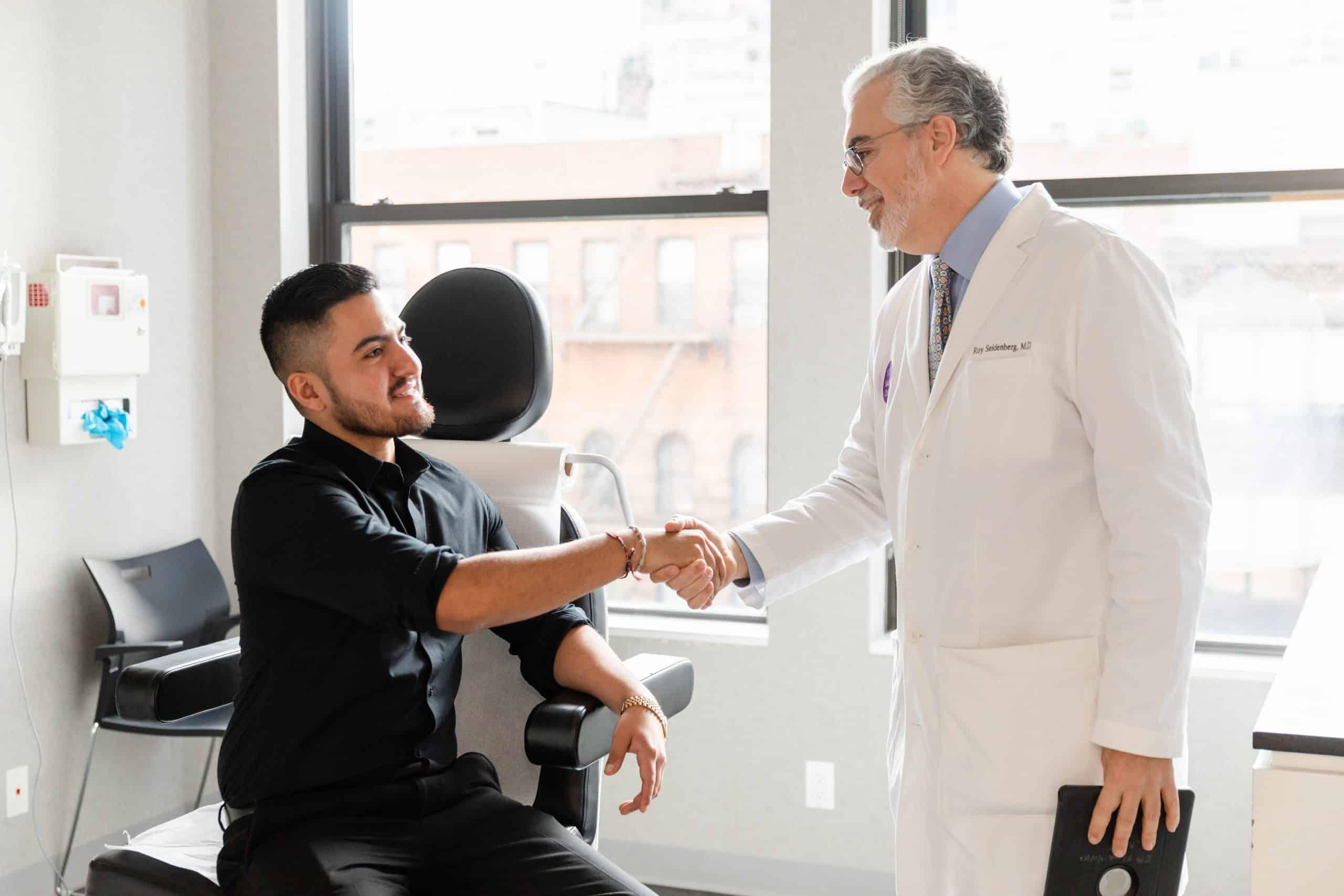 male cosmetic dermatology procedures new york