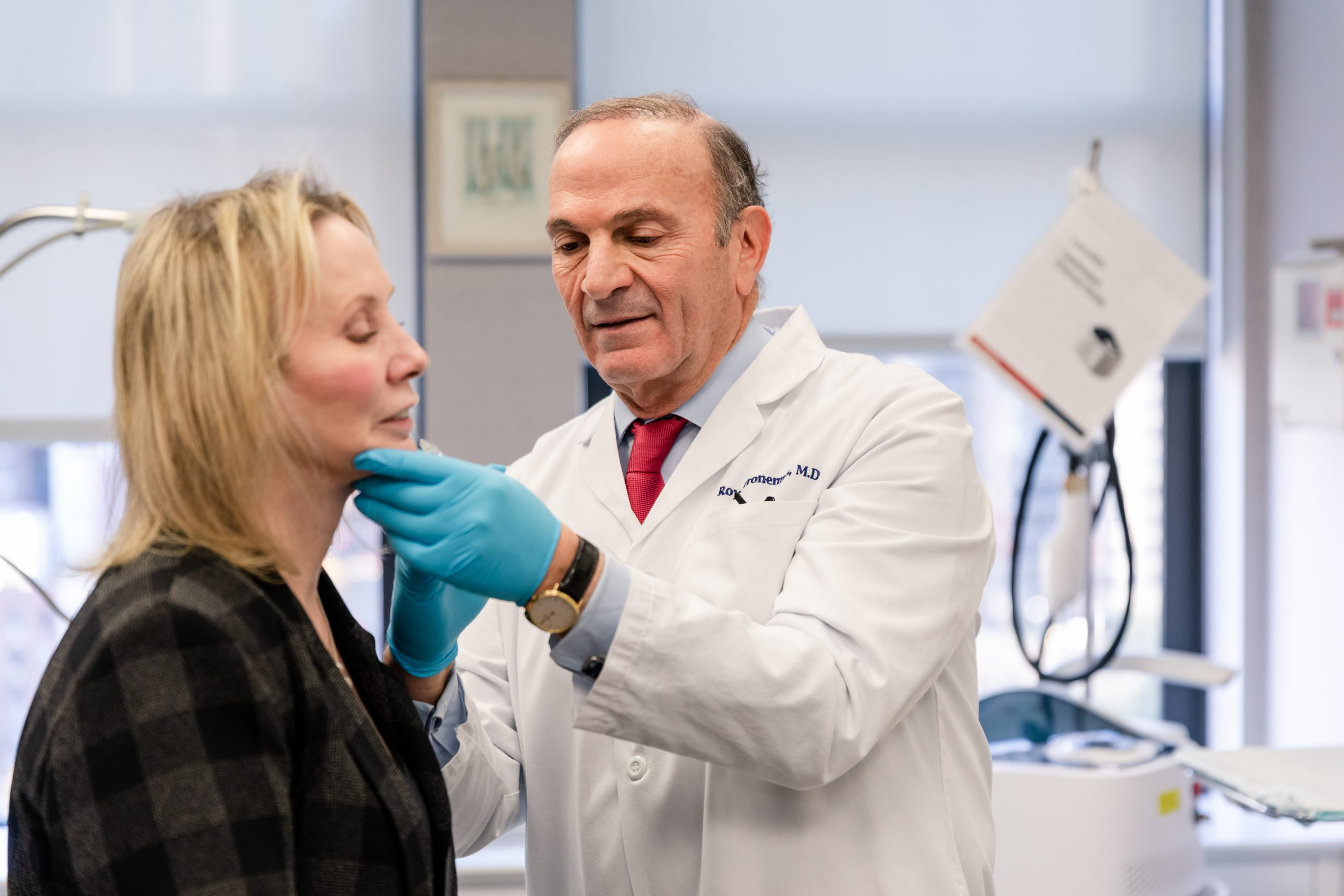 botox injections for neck rejuvenation in New York City