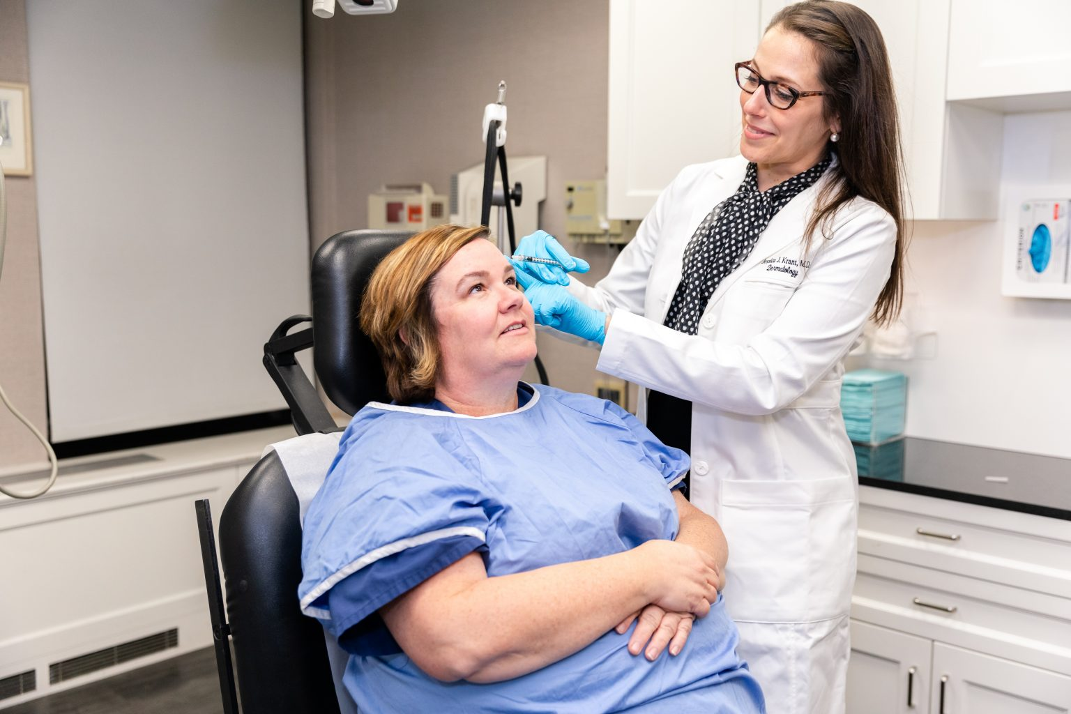 Dysport injections to rejuvenate the neck in New York City