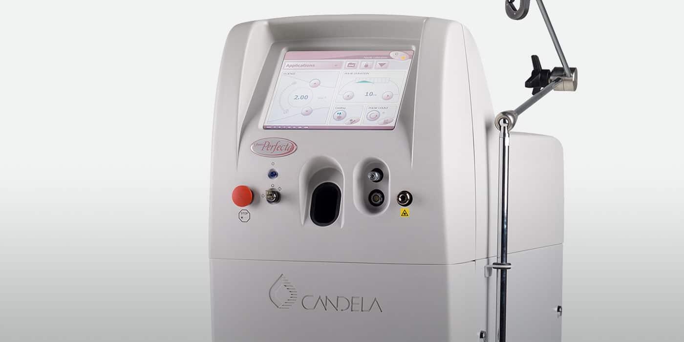 Vbeam Perfecta used for rosacea laser treatment in NY, NY