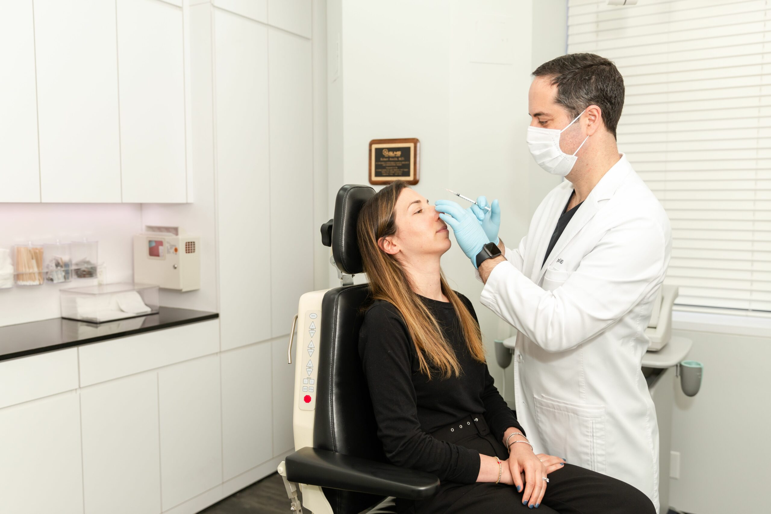 When Botox is injected into a muscle, the muscle temporarily relaxes for up to 3 to 4 months.