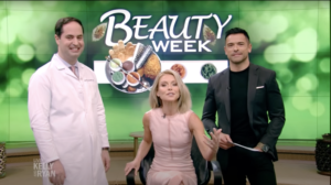 Dr. Anolik was featured on Kelly & Ryan show to promote Botox treatment, NYC, NY.